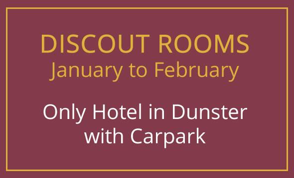 Discount Hotel Rooms in Dunster