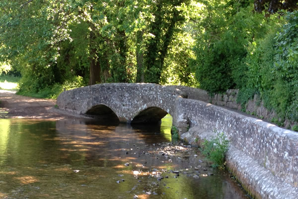 Gallox Bridge Dunster