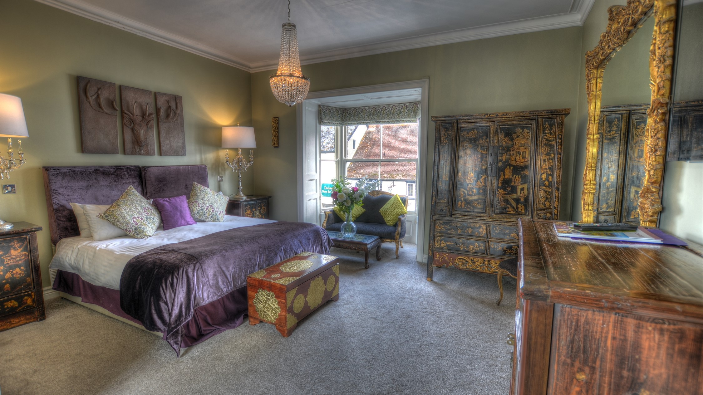 Luxury Hotel Rooms in Dunster